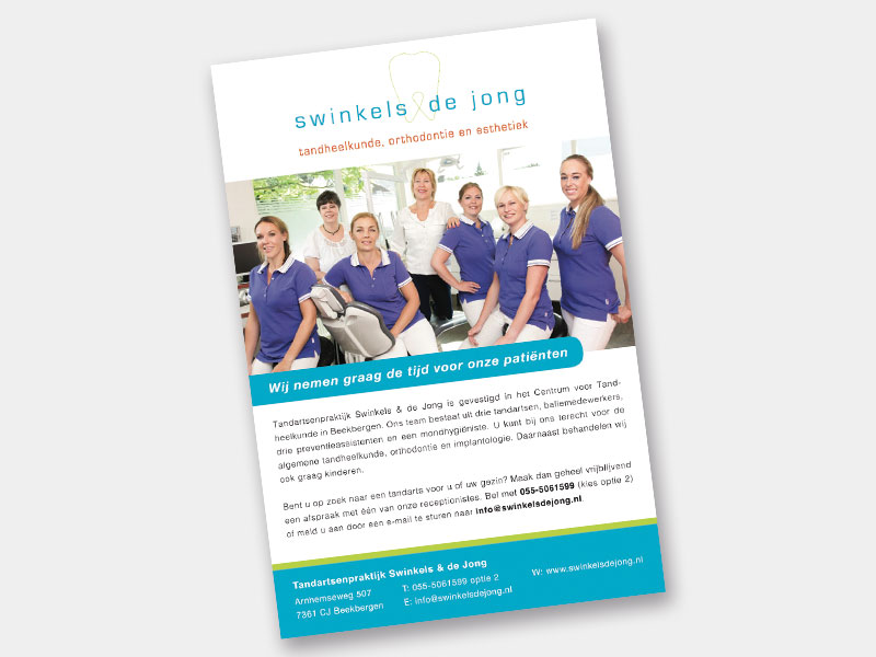 Advertentie Swinkels Beekbergen